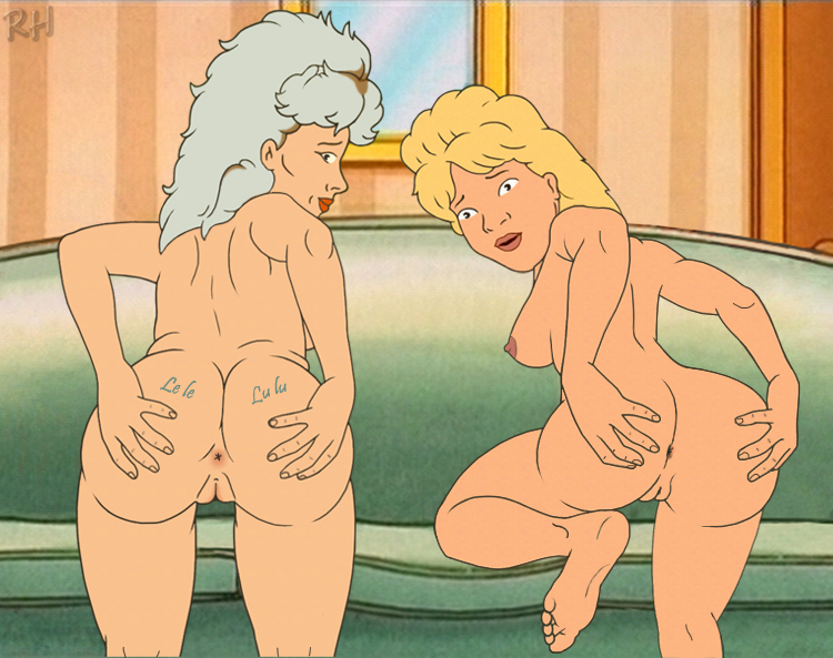 luanne king of hill the nude platter Manyu hiken-cho gif