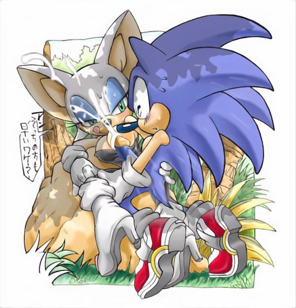 rouge topaz and x sonic Aneki my sweet elder sister the animation