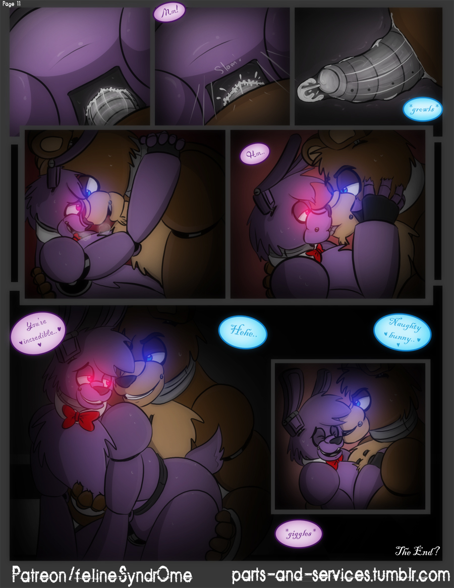 nights freddy's xxx five at comic Mass effect andromeda suvi nude
