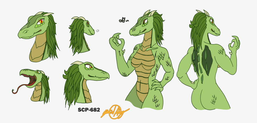 scp-939-53 Lilly from alpha and omega