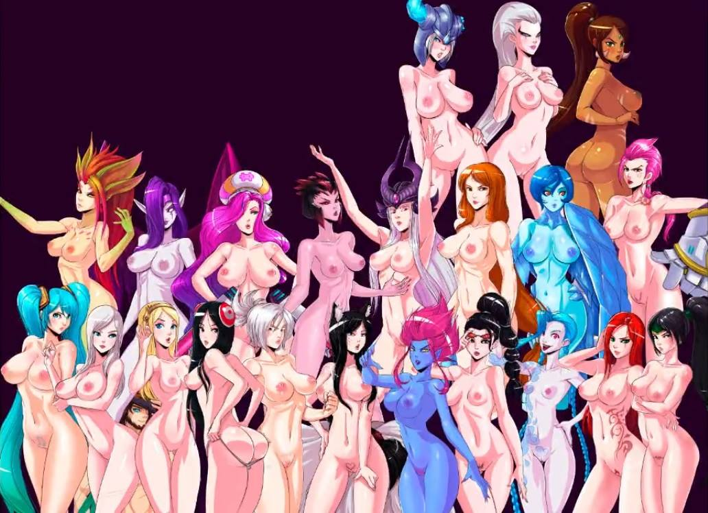 of league legends sona and ahri Negligee: love stories nudity