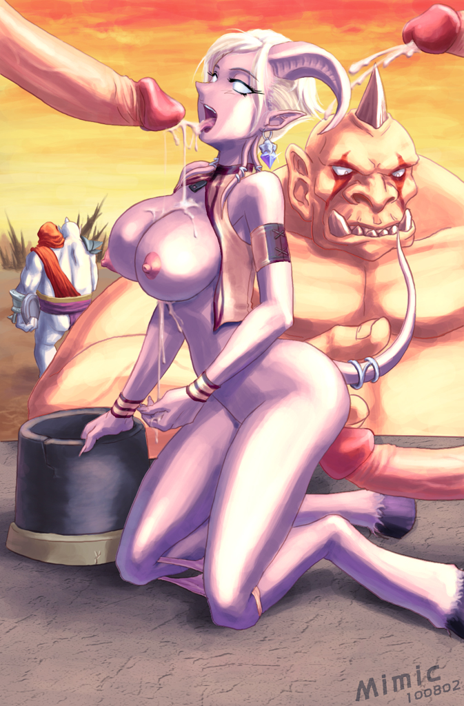 of draenei warcraft porn world Corruption of champions sand witch