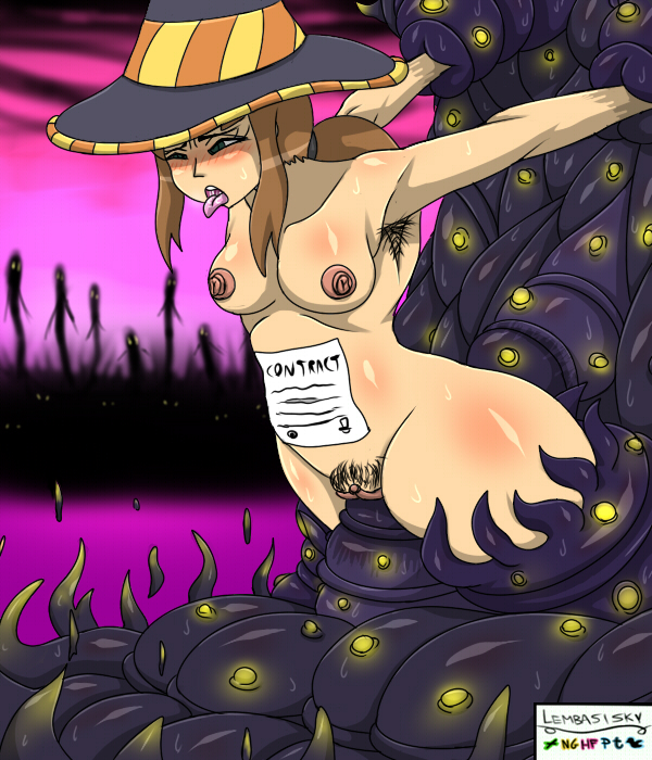 nude in a time hat Regular show rigbys mom porn
