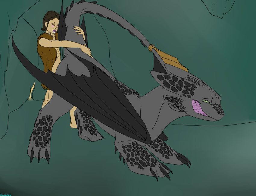 hiccup your fanfiction into night dragon turns how train fury a to The fox and the hound 2 cash