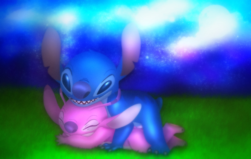 from and stitch angel lilo Breath of the wild yaoi