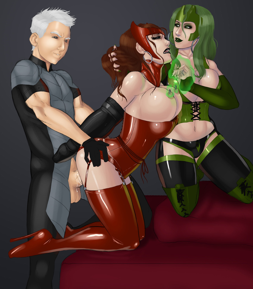 black widow and scarlet witch porn The devil is a part timer